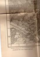 CARTE ETAT MAJOR ALLEMAND Guerre 14.18  Ville  CHALONS  IGNY LE JARD  VERNEUIL 1915 Carte General Des Armees - Documenti