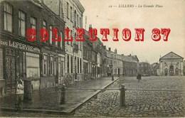 OF 62 ☺♥♥ LILLERS - N° 22 RARE < CHARCUTERIE HENRI LEFEBVRE GRANDE PLACE - EDITION < LS HAUTMONT - Lillers