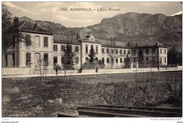 BONNEVILLE - L'École Normale     2 Scans  TBE - Bonneville