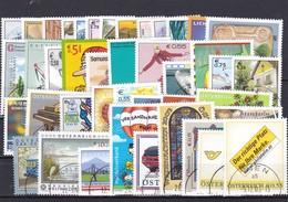 Österreich, Kpl. Jahrgang 2003,(ohne Blocks)  Gest. (T) 9298 - Austria