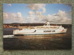 NORWAY LINE JUPITER AT DOUGLAS - Ferries