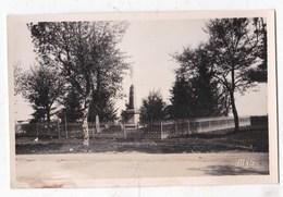 Carte Postale Photographie Monument Aux Morts La Calme Aveyron - Photographie