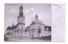 NIEDER - SCHLESIEN - TREBNITZ / TRZEBNICA, Klosterkirche, 1905 - Schlesien