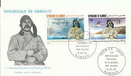DJIBOUTI, SOBRE PRIMER DIA BLERIOT - Yibuti (1977-...)