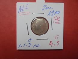 Albert 1er. 50 Centimes 1910 FR JOLIE QUALITE - 1909-1934: Albert I