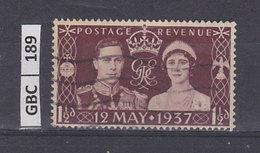 GRAN BRETAGNA   1937Incoronazione Giorgio VI Usato - Usati