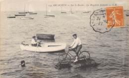 33 - Gironde - Arcachon / 10021 - La Bicyclette Flottante - Défaut - Arcachon