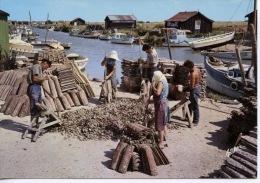 Marennes Oléron Détroquage Des Huitres Chenal D'Ors (ostréiculture Métiers Folklore) N°1192 Arjac - Pêche