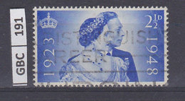 GRAN BRETAGNA   1948Anniversario Matrimonio Re Giorgio E Regina Elisabetta 2,5 Usato - Usati