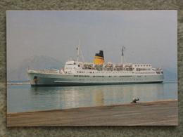 HELLENIC MEDITERRANEAN LINES CORINTHIA - Ferries