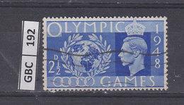 GRAN BRETAGNA   1948Olimpiadi 2,5 Usato - Usati