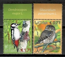 Latvia 2016 Letonia / Birds MNH Aves Vögel Oiseaux / Cu10517  34 - Vogels