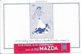 Buvard - A La Ville à La Campagne : MAZDA - Electricité & Gaz