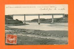 CPA FRANCE 29  ~  MORLAIX  ~  689  Route De Morlaix à St-Pol-de-Léon, Viaduc Sur La Peuzé  ( ND  1911 ) - Concarneau