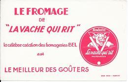 """Buvard - LE FROMAGE De """" LA VACHE QUI RIT """" - Produits Laitiers"""