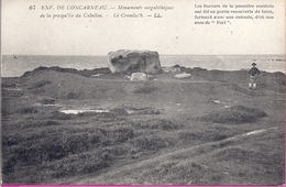 --  29 --   ENVIRONS DE CONCARNEAU -- MONUMENTS MÉGALITHIQUES DE LA PRESQU'ÎLE  DU CABELLOU -- LE CROMLEC 'H - Dolmen & Menhirs