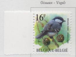 PIA - BEL - 1999 : Uso Corrente : Uccello - Cinciarella - (Yv 2804) - Belgique