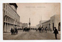 - CPA CASABLANCA (Maroc) - Boulevard De La Gare - - Casablanca