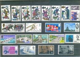 Beau Lot De Timbres Neufs Dont Y & T N° 453 à 460 - 413 Et 414 - .......... - Grande-Bretagne