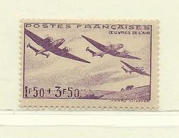 FRANCE  ( F41 - 111 )  1942  N° YVERT ET TELLIER  N° 540   N* - France