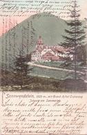 ALTE  AK  SONNWENDSTEIN - Johann Am Semmering / NÖ  - Grand Hotel Erzherzog  - Gelaufen 1903 - Semmering
