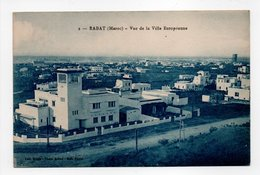 - CPA RABAT (Maroc) - Vue De La Ville Européenne - Edition Capul N° 2 - - Rabat