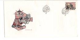 TCHECOSLOVAQUIE FDC 1987 JAN EVANGELISTA PURKYNE PHILOSOPHE - FDC