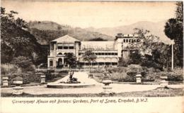 GOVERNMENT HOUSE AND BOTANIC ,PORT OF SPAIN ,TRINIDAD ,B.W.I  REF 58354C - Trinidad