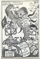 77 COULOMMIERS - Thème FROMAGE - Dessin PLANCKE 1990 - Journée De La Carte Postale - CARTE PIRATE - 300 Ex. - Coulommiers