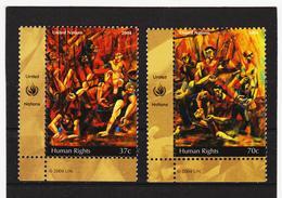 STO88 UNO NEW YORK 2004 Michl 968/69 ** Postfrisch SIEHE ABBILDUNG - New York -  VN Hauptquartier