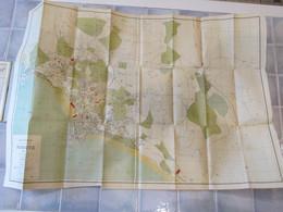 Plan Guide De Biarritz Par J Dallian 1912 - Cartes Routières