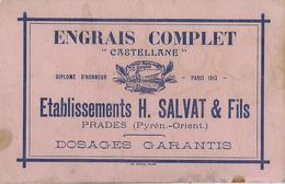 Prades-pyrenées-orientales-66-engrais Castellane-h.salvat-peu Courant - Agriculture