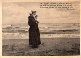 Middelkerke - Dame Met Kind Turend Naar De Zee - 1938 - Middelkerke