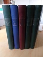 5 Lindner Binder (3x Grün, 1x Rot, 1x Blau) (9427) - Alben & Binder