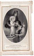 """Canivet, Holly Card N°37,  , Image Pieuse Dentelle """" Souvenir Du Diaconat, Le Voeu De Chasteté """" 7.5 X 12 Cm, - Religion & Esotericism"""
