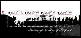 Gibraltar 2018 Micheln° 1879-1882 *** MNH  Centenary World War I Centenaire - Gibraltar