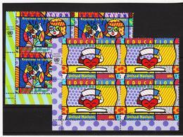 SRO96 UNO NEW YORK 1999 Michl 835/36 ECKRAND-VIERERBLÖCKE ** Postfrisch SIEHE ABBILDUNG - New York -  VN Hauptquartier