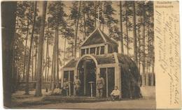 Foto AK Russische Waldkapelle Feldpost 1916 Stempel 1. Kompagnie Armierungs-Bataillon 111 Kirche Im Wald Soldaten - Guerra 1914-18