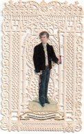 """Canivet, Holly Card N°43,  , Image Pieuse Dentelle """" Souvenir De Première Communion"""" 6.5 X 10 Cm, - Religione & Esoterismo"""