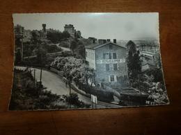 CPSM :  SAINT-GERMAIN-AU-MONT-D'OR  - Hôtel De La Gare ( Propriétaire JACQUIER) - Hotels & Restaurants