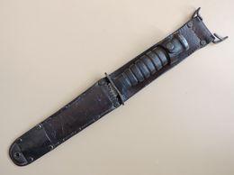 Poignard USM3 BOKER Marquage Garde, Fourreau USM6 MILSCO, US WW2. - Armes Blanches