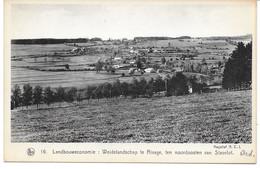 STOUMONT (4987) L église Et La Cure Sur La Route De La Gleize - Stoumont