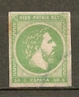 CARLISTES : Yv. N°   4  Type I (o)  50c  Don Carlos     Cote  65 Euro  BE R  2 Scans - Carlistes