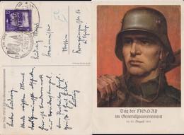 GG Generalgouvernement Mi 67 Bahnpost Kte Krakau 1941 - Besetzungen 1938-45
