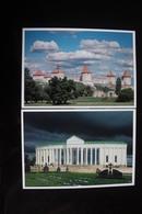 Moldova / Transnistria (PRIDNESTROVIE). Bendery. 2 PCs Lot  - Modern Postcard - Moldavia