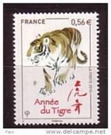 2010-N°4433** ANNEE DU TIGRE - France