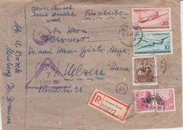 DDR Div RPnAdr Landpost Meseberg ü Gransee Zensur 1956 - DDR