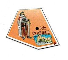 Magnet Publicitaire France Foix Ariege - Magnets