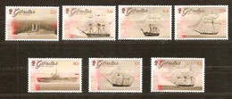 Gibraltar 2017 Micheln° 1790-1796 *** MNH Royal Navy Ships Bateaux Boten - Gibraltar
