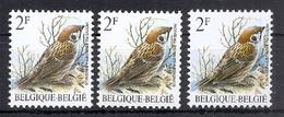 BUZIN  Papier + Kleur Variaties * Nr 2347 * P6a + Groene Gom + NOVARODE * Postfris Xx * - 1985-.. Pájaros (Buzin)
